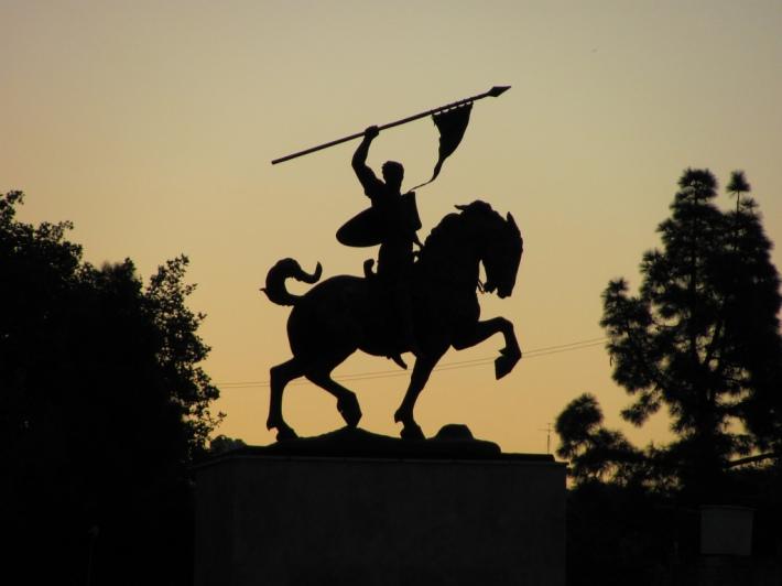 el-cid estatua